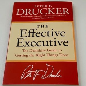 Book: The Effective Executive
